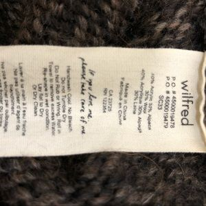 Wilfred Sweaters - WILFRED Aritzia wool blend button front cardigan